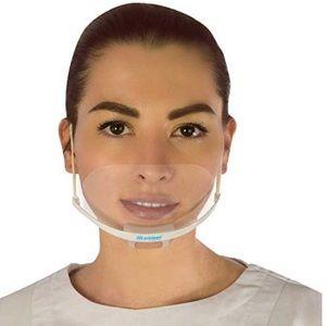 1 Box Masklean Clear Transparent Sanitary Mask